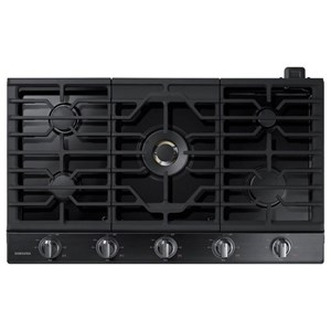 "Samsung Appliances Gas Cooktops - Samsung 36"" Gas Cooktop"