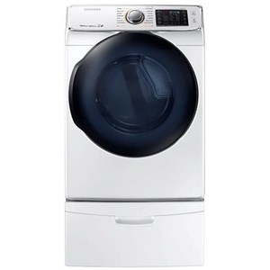 Samsung Appliances Gas Dryers - Samsung DV50K7500 7.5 cu. ft. Gas Dryer