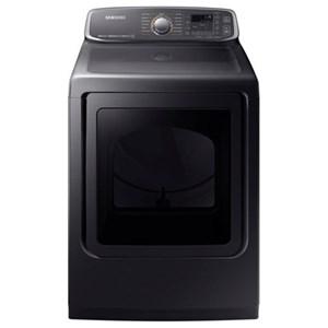 Samsung Appliances Gas Dryers - Samsung DV7750 7.4 cu. ft. Gas Dryer