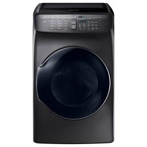 Samsung Appliances Gas Dryers - Samsung DV9600 7.5 cu. ft. FlexDry™ Gas Dryer