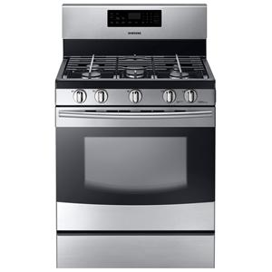 "Samsung Appliances Gas Ranges 30"" Freestanding Gas Range"