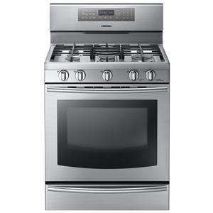 "Samsung Appliances Gas Ranges 30"" Freestanding Gas Range"