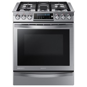 5.8 cu.ft Slide-in Gas Chef Collection Range