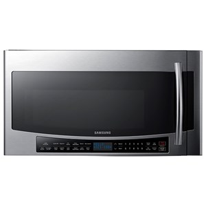 Samsung Appliances Microwaves 1.7 Cu.Ft. Over Range Convection Microwave