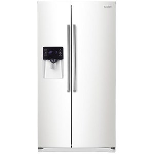 Samsung Appliances Side-By-Side Refrigerators 25 cu.ft. Capacity Side-By-Side Refrigerator