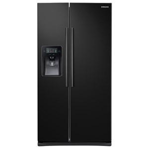 Samsung Appliances Side-By-Side Refrigerators 25 cu. ft. Side-By-Side Refrigerator