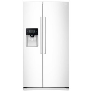 Samsung Appliances Side-By-Side Refrigerators 25 cu. ft. Side-By-Side Refrigerator