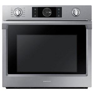 "Samsung Appliances Single Wall Ovens - Samsung 30"" Single Wall Oven"