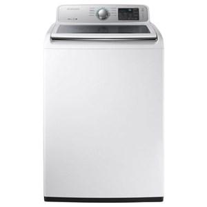 Samsung Appliances Top Load Washers - Samsung WA7050 4.5 cu. ft. Top Load Washer