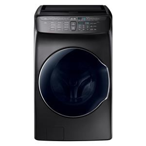 High-Efficiency FlexWash Washer in Black Sta