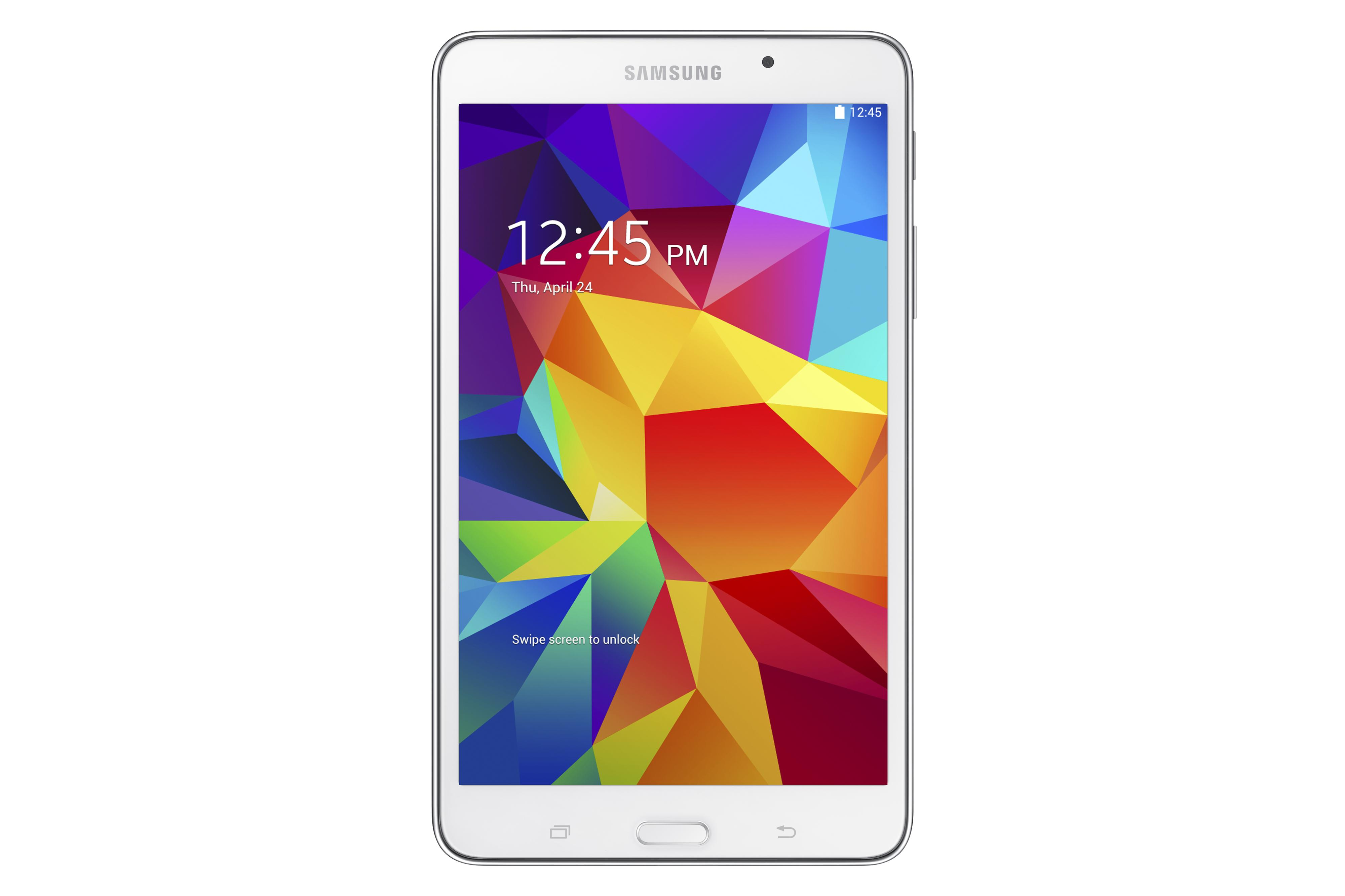 2014 Galaxy Tablets Galaxy Tab® 4 7.0 8GB by Samsung Electronics at Wilcox Furniture