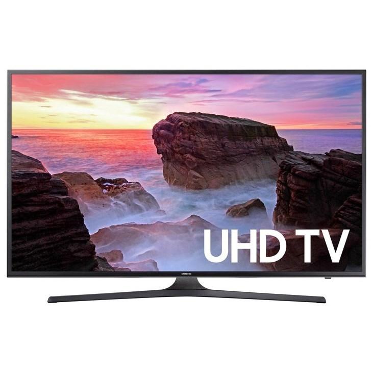 "4K UHD TVs - Samsung 2017 40"" Class MU6300 4K UHD TV by Samsung Electronics at Wilcox Furniture"