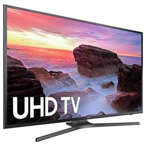 "Samsung Electronics 4K UHD TVs - Samsung 2017 55"" Class MU6300 4K UHD TV"