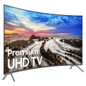 "Samsung Electronics 4K UHD TVs - Samsung 2017 65"" Class MU8500 Curved 4K UHD TV - Item Number: UN65MU8500FXZA"