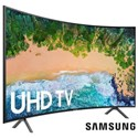 "Samsung Electronics 4K UHD TVs - Samsung 2018 65"" Class NU7300 Curved Smart 4K UHD TV - Item Number: UN65NU7300FXZA"