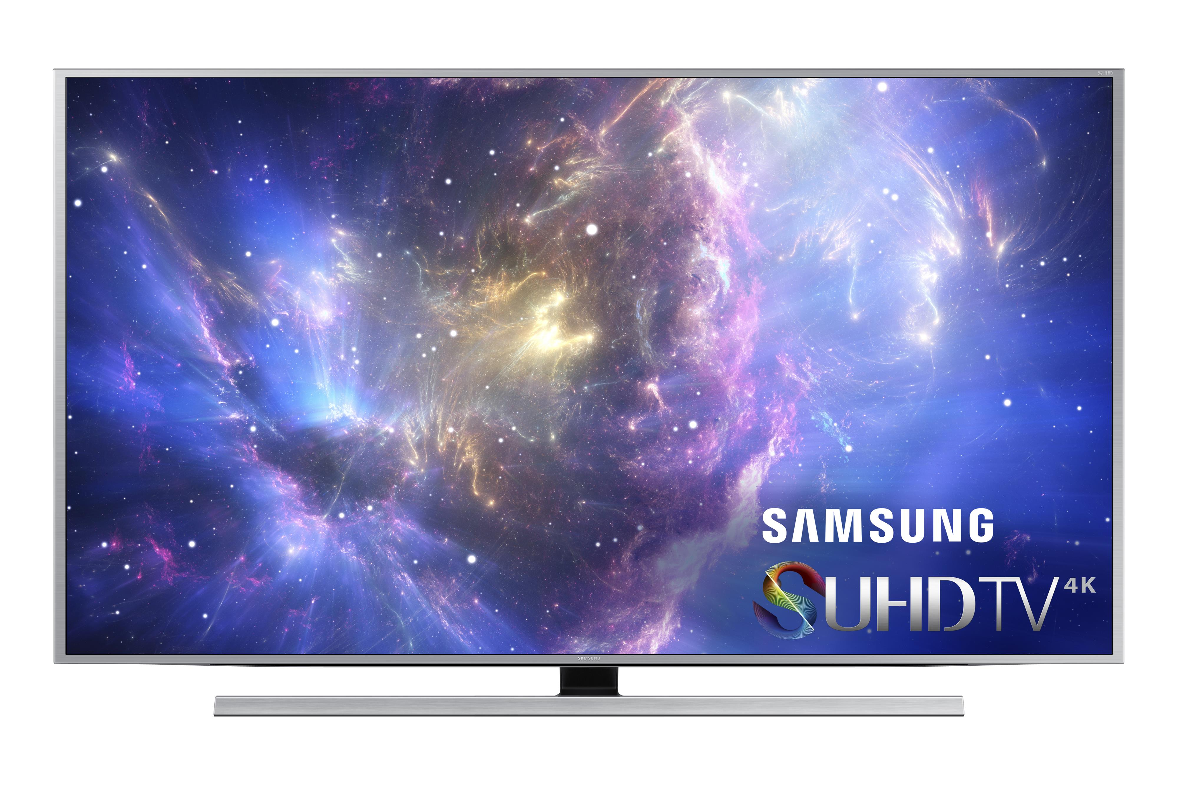 "Samsung Electronics Samsung LED TVs 2015 55"" 4K SUHD JS8500 Smart TV - Item Number: UN55JS8500FXZA"