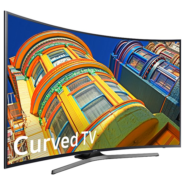 "Samsung Electronics Samsung LED TVs 2016 55"" Class KU6500 6-Series Curved 4K UHD TV - Item Number: UN55KU6500FXZA"