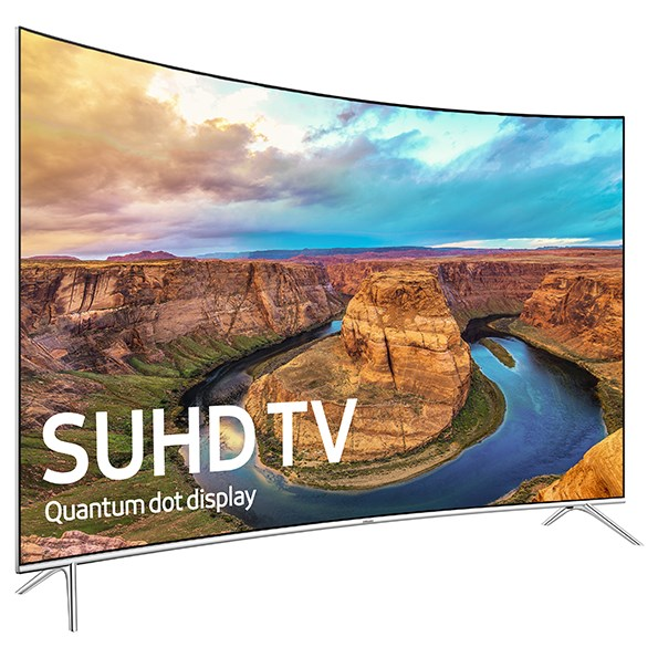 "Samsung Electronics Samsung LED TVs 2016 65"" Class KS8500 8-Series Curved 4K SUHD TV - Item Number: UN65KS8500FXZA"