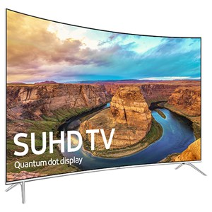 "Samsung Electronics Samsung LED TVs 2016 65"" Class KS8500 8-Series Curved 4K SUHD TV"