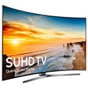 "Samsung Electronics Samsung LED TVs 2016 65"" Class KS9800 9-Series Curved 4K SUHD TV - Item Number: UN65KS9800FXZA"