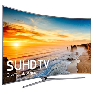 "Samsung Electronics Samsung LED TVs 2016 88"" Class Curved 4K SUHD TV"