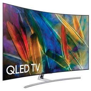"Samsung Electronics Samsung QLED TVs 2017 65"" Class Q7C Curved QLED 4K TV"