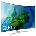 "Samsung Electronics Samsung QLED TVs 2017 65"" Class Q8C Curved QLED 4K TV - Item Number: QN65Q8CAMFXZA"