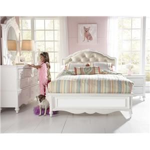 Samuel Lawrence SweetHeart Youth Full Princess Headboard and Footboard