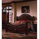 Samuel Lawrence San Marino Queen Panel Headboard and Footboard Bed - 3530-251+250+400 - Bed Shown May Not Represent Size Indicated