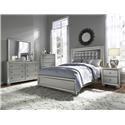 Samuel Lawrence Celestial King Bedroom Group - Item Number: GRP-8960-KINGSUITE