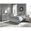 Samuel Lawrence Celestial Queen Bedroom Group - Item Number: GRP-8960-QUEENSUITE