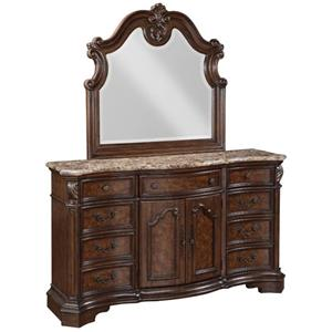 Samuel Lawrence Monticello Collection Dresser/Mirror