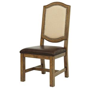 Samuel Lawrence American Attitude Wood Farm Side Chair