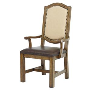 Samuel Lawrence American Attitude Wood Farm Arm Chair