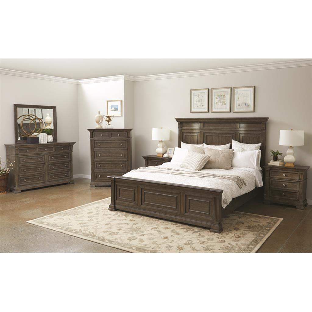 Arlington King Bedroom Group by Samuel Lawrence at Carolina Direct