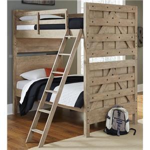 Morris Home Furnishings Asherton Asherton Bunk Bed