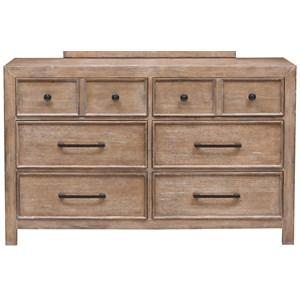 Morris Home Furnishings Asherton Drawer Dresser