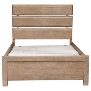 Morris Home Furnishings Asherton Full Plank Bed
