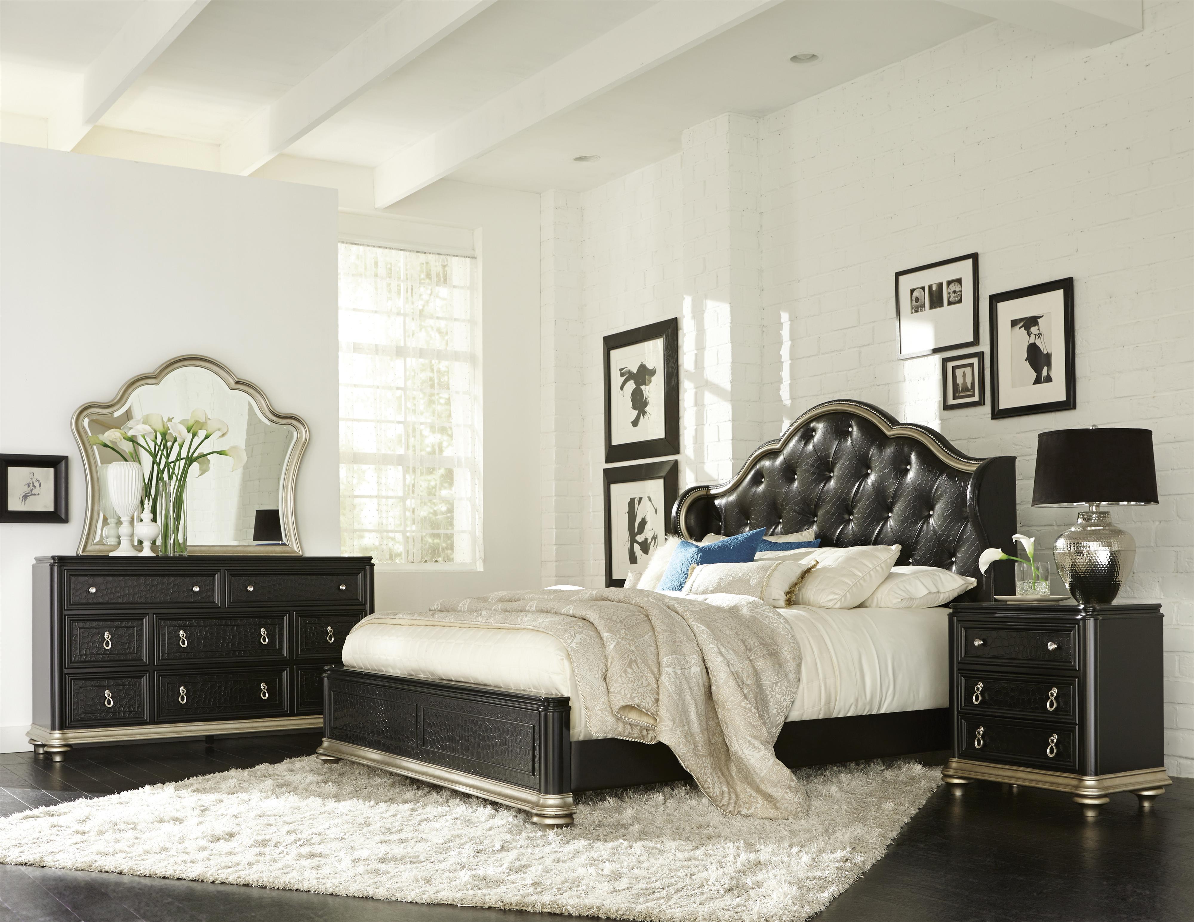 Samuel Lawrence Avanti Cal King Bedroom Group - Item Number: 8708 CK Bedroom Group 1