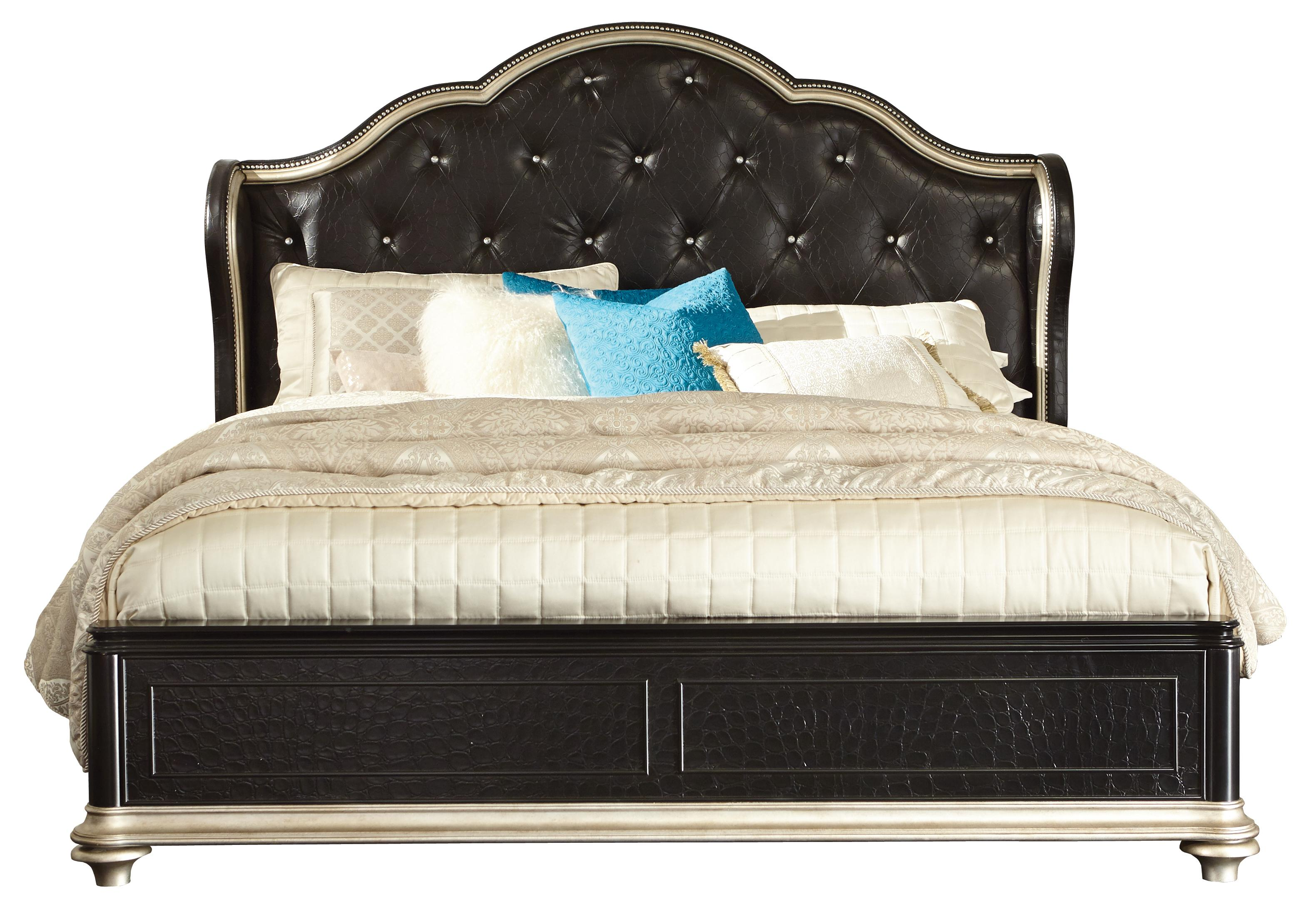 Samuel Lawrence Avanti King Bed - Item Number: 8708-270-271-400