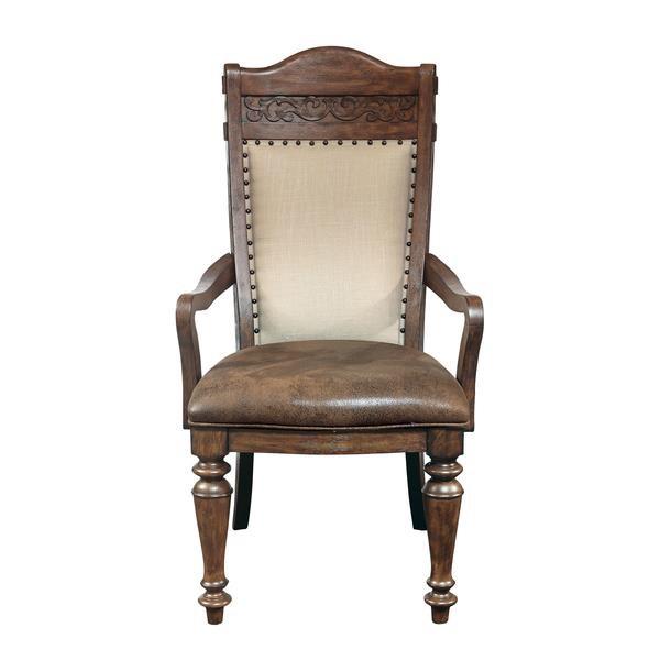 Morris Home Furnishings Bakersfield Bakersfield Dining Arm Chair - Item Number: 204884454