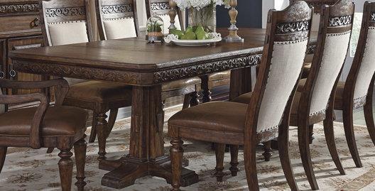 Morris Home Furnishings Bakersfield Bakersfield Dining Table - Item Number: 355293452