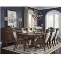 Morris Home Furnishings Bakersfield Dining Table