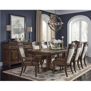 Morris Home Furnishings Bakersfield Bakersfield 5-Piece Dining Package