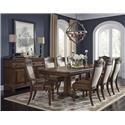 Morris Home Furnishings Bakersfield Bakersfield 5-Piece Dining Package - Item Number: 388219521