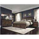 Morris Home Furnishings Bakersfield Queen Bed