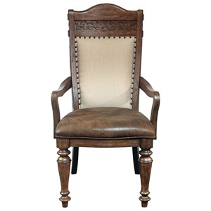 Samuel Lawrence Barcelona Arm Chair