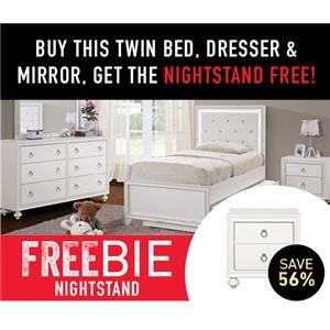 Brit Twin Bed Package with Freebie!