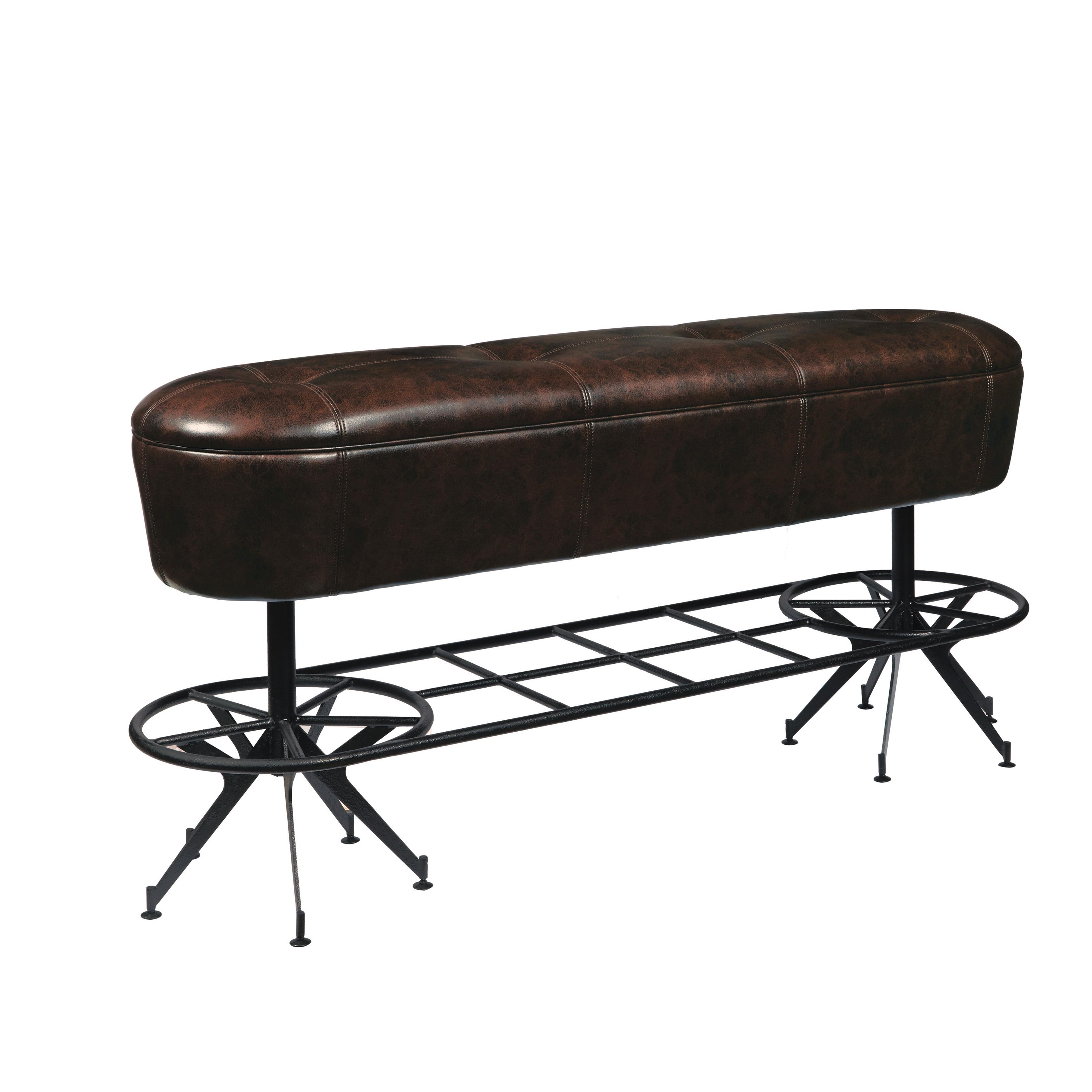 """Brewberg Brewberg Ale House 24"""" Bench by Samuel Lawrence at Morris Home"""