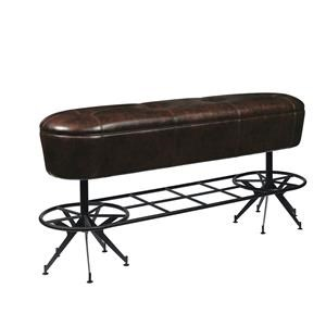"Morris Home Furnishings Brewberg Brewberg Ale House 30"" Bench"